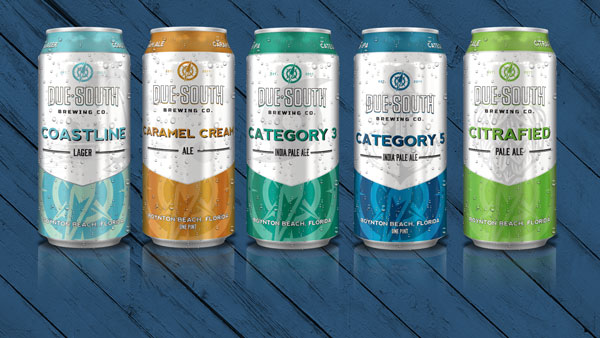 Due South Brewing Company Introduces 16 Ounce Cans