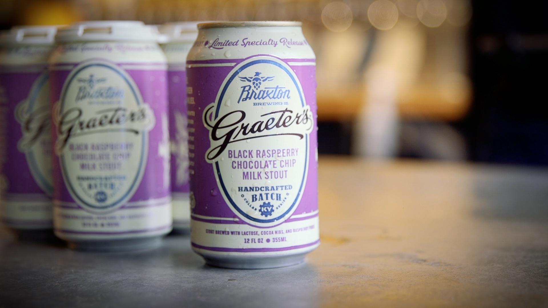 Braxton brewing graeter 39 s bring back popular ice cream beer for Take craft beer back
