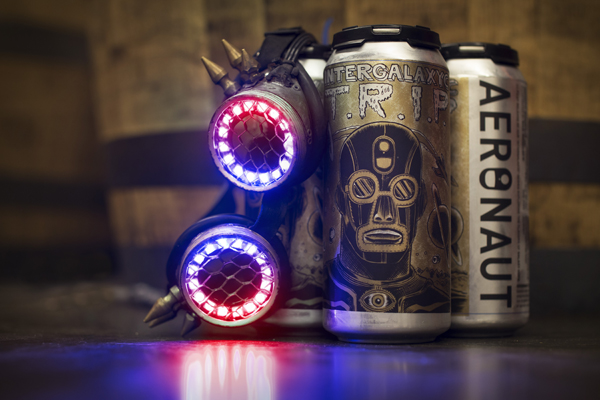 Aeronaut and The Lights Out release T.R.I.P., Artwork by Raul Gonzalez, Photo by Erin Genett