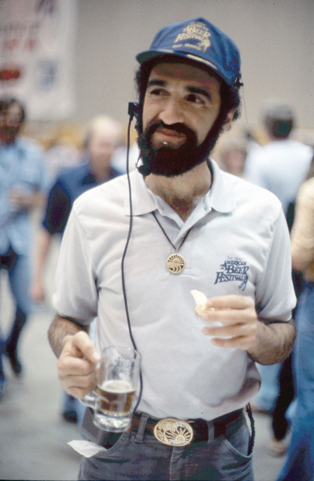 Charlie Papazian at the Great American Beer Festival