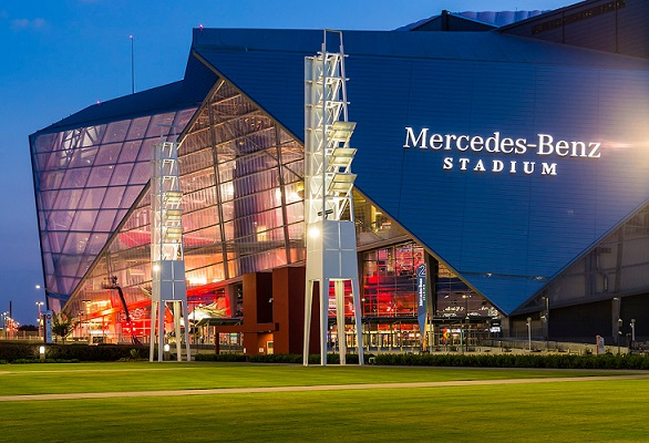Scofflaw brewing hosts unique football collaboration for Mercedes benz stadium application